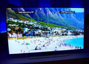 Recenze televizoru Samsung UE43KU6072-Obraz a zvuk