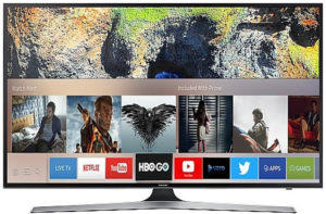 Samsung UE40MU6172 recenze a návod